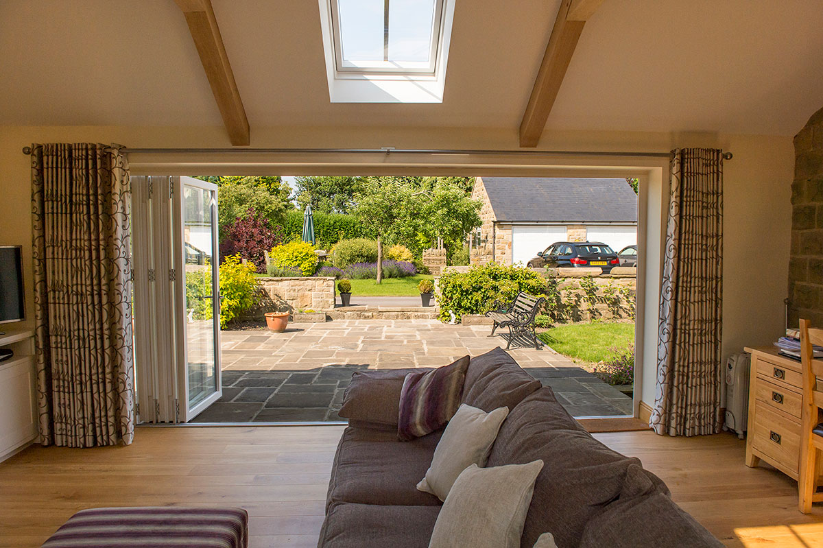 Garden Room Extension - Niche Design Architects on Backyard Patio Extension id=56155
